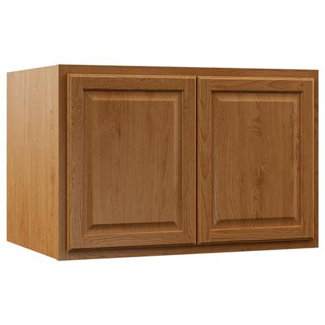 oak kitchen wall cabinets hton bay assembled 36x12x24 in hton wall 3583