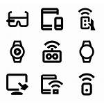 Smart Devices Icon Device Icons Packs Vector