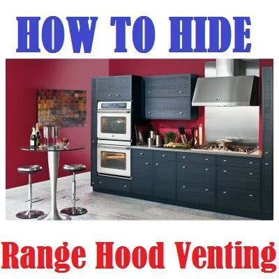 How to Hide Kitchen Hood Venting   (3 Great Ideas
