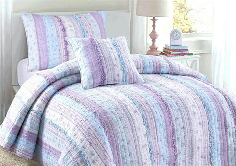 Lavender Coverlet by Lilac Embroidered Chic Lace 100 Cotton Quilt Set