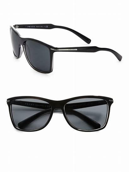 Sunglasses Prada Wayfarer Arrow Designer Lyst