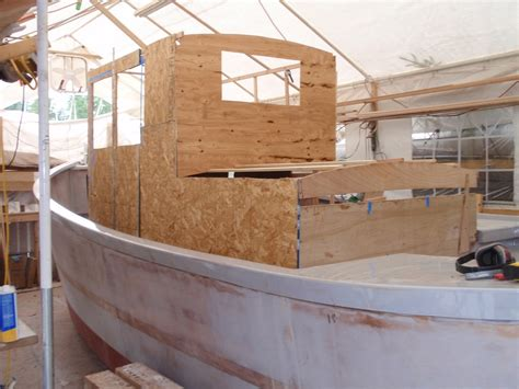 Small Boat Building Plans by Cabin Mockup Boatbuilding Blog
