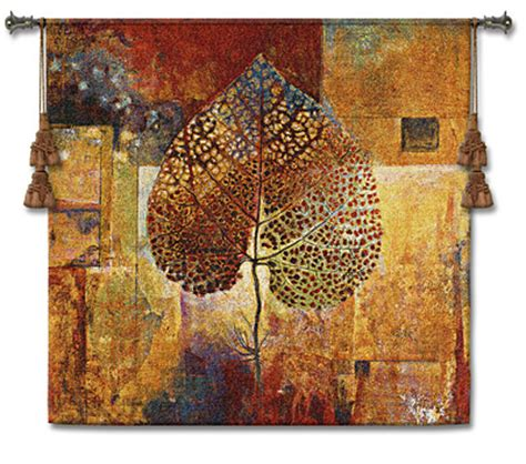 modern tapestry wall hangings abstract autumn dougall modern tapestry picture h50 quot x w52 quot