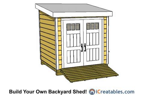 easy to build shed our simple 8x8 lean to shed plans are easy to follow so