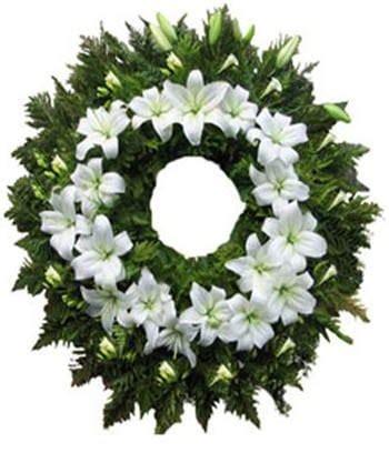 Corona Descanse En Paz  Florería Económica
