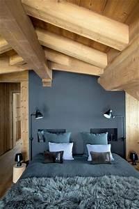 12 chambres sous combles qui donnent des idees deco With chambre sous les toits