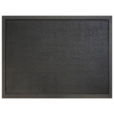 Commercial Doormats by Trafficmaster Pin Dot Black 36 In X 48 In Rubber