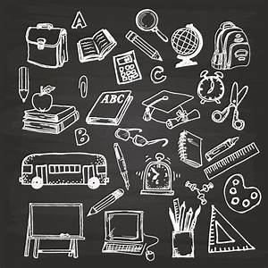 Chalkboard drawing clipart school - BBCpersian7 collections