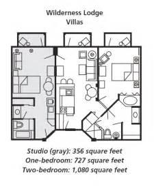 cabins floor plans boulder ridge villas at disney 39 s wilderness lodge