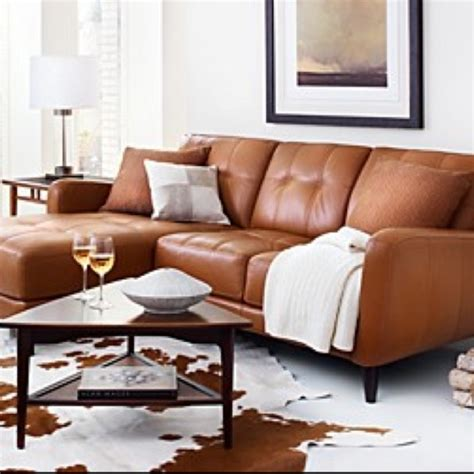 orange leather sofa bed burnt orange leather couch looks cozy chic southwest