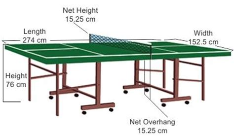 ping pong table dimensions ping pong table tables and articles