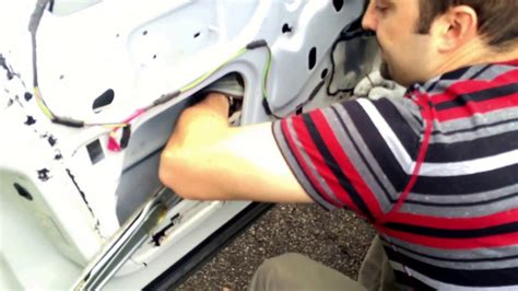 dodge ram mega cab window motor  regulator removal