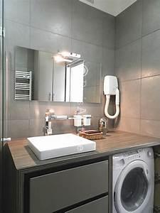 Lave Linge Dans Salle De Bain : salle de bain lavabo lave linge installer lave linge dans ~ Preciouscoupons.com Idées de Décoration