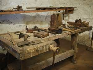 woodworking tools in the castle