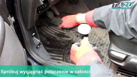 Wymiana pompy sprzęgła Rover 75 / MG ZT TAZU PARTS - YouTube