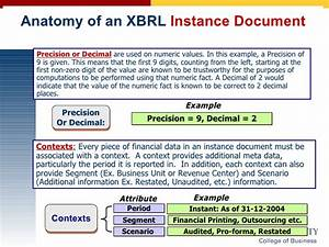 software to create xbrl instance documents With xbrl documents