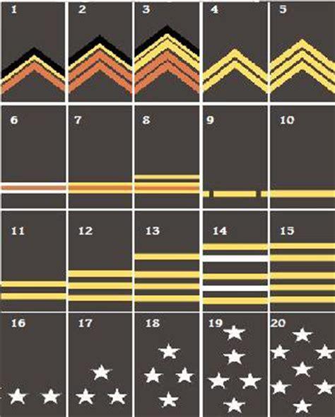 les grades de l arm 233 e de terre fran 231 aise les arm 233 es