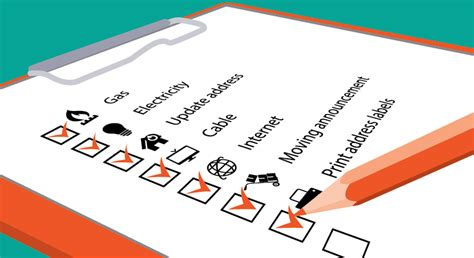 Printable Moving Checklist and Planner   Shutterfly