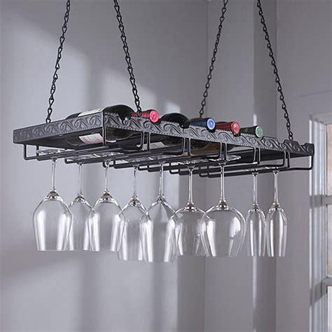 wine glass rack metal hanging wine glass rack wine enthusiast