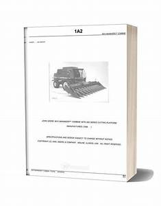 John Deere 9610 Parts Catalog