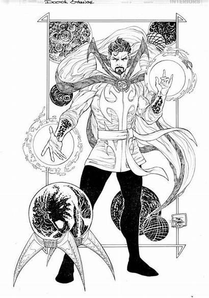 Strange Doctor Dibujos Dr Comic Joe Colorear