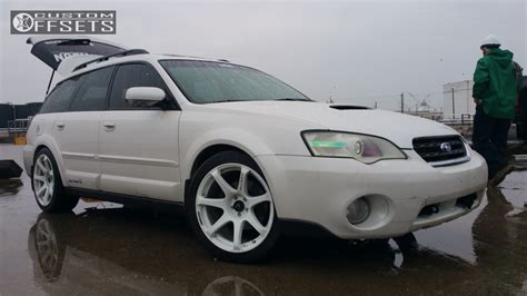 2007 Subaru Outback Cosmis Racing Mr7 Bc Racing Coilovers
