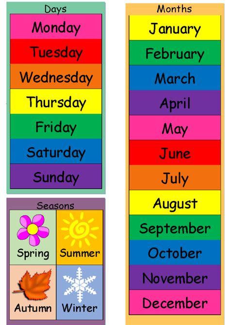 today   weather seasons chart mindingkids