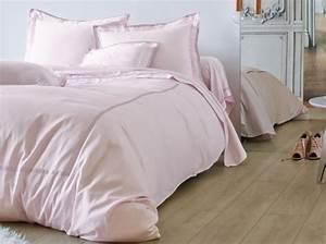 Housse De Couette Rose Pastel : vent de fra cheur sur le linge de lit chambre ~ Teatrodelosmanantiales.com Idées de Décoration