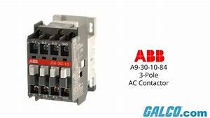 Abb A9-30-10-84 3-pole Contactor
