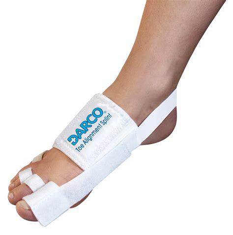 fußgymnastik nach hallux valgus op post op toe alignment splint bandage for alignment