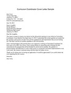 Spa Receptionist Cover Letter Resume Exles Templates Curriculum Coordinator Cover Letter Sle Sle Simple Sle