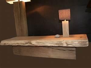 Mobilier Bois Design : table basse bois brut tronc meuble design bois ~ Melissatoandfro.com Idées de Décoration