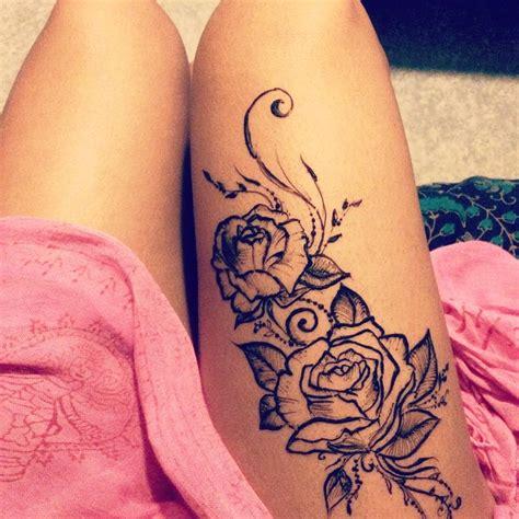 ideas  tattoo cuisse  pinterest tattoos