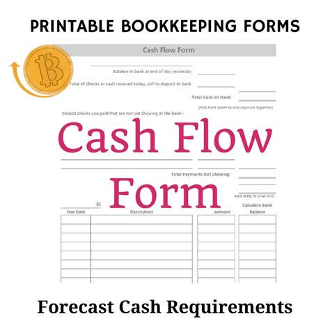 bookkeeping templates cashflows free bookkeeping forms and accounting templates