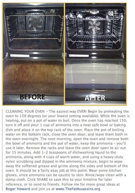 how to clean oven racks with ammonia best way to clean oven clean organize