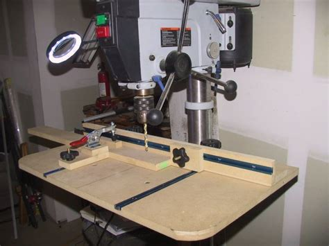 drill press table design opinions  woodworking