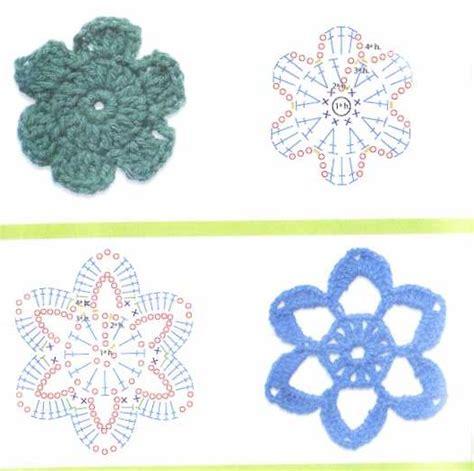 schemi di fiori all uncinetto schemi di fiori con uncinetto fiori all uncinetto 1 7