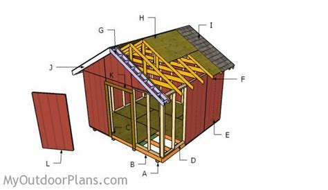 free 12x12 shed plans 12x12 shed plans myoutdoorplans free woodworking plans