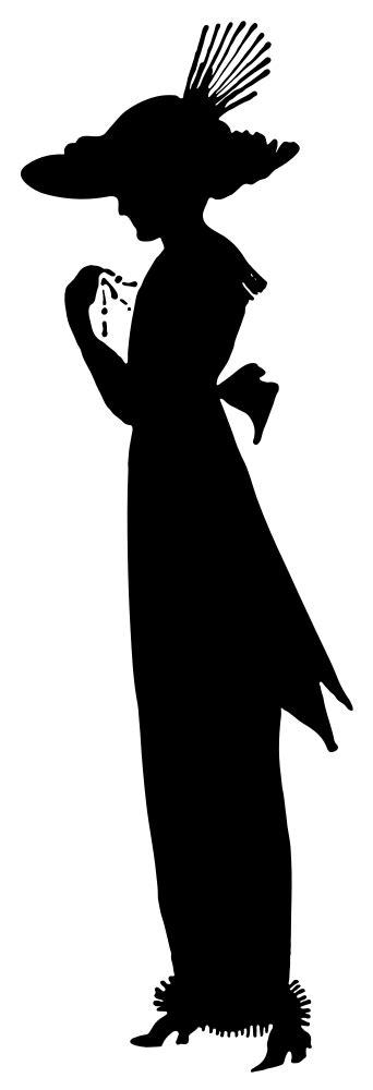 onlinelabels clip art  fashion silhouette