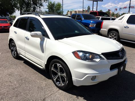 2007 Acura Rdx Technology Package 2007 acura rdx sh awd 4dr suv w technology package in