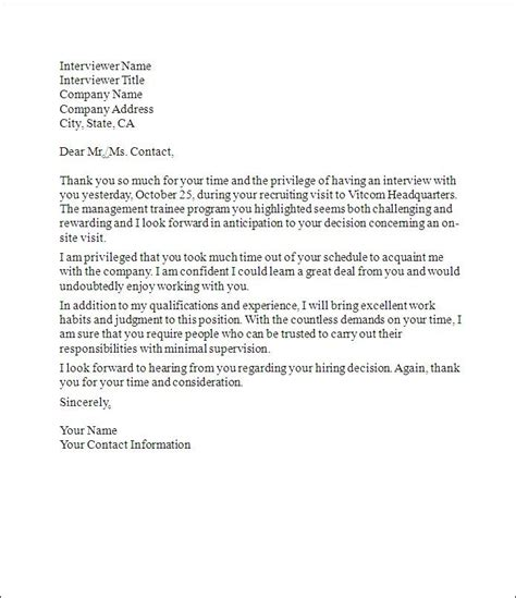 thank you letter for job interview thank you letter thank you 25105 | f19bfbbb10662a7c16369c9703378ab3