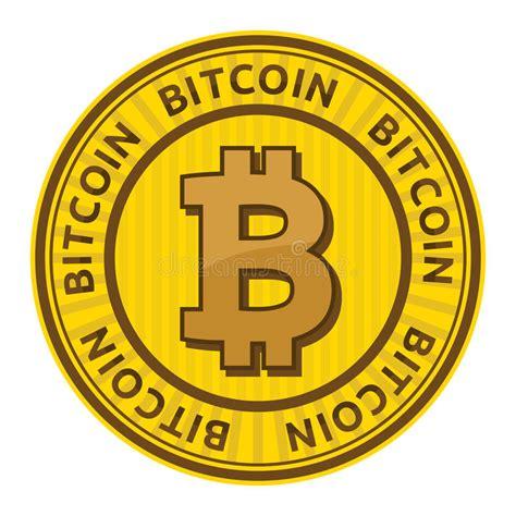 New users enjoy 60% off. Bitcoin icon stock illustration. Illustration of virtual - 54494055