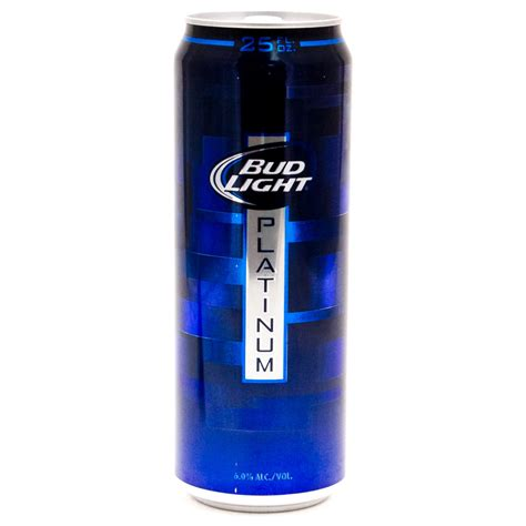 bud light platinum bud light platinum 25oz can wine and liquor