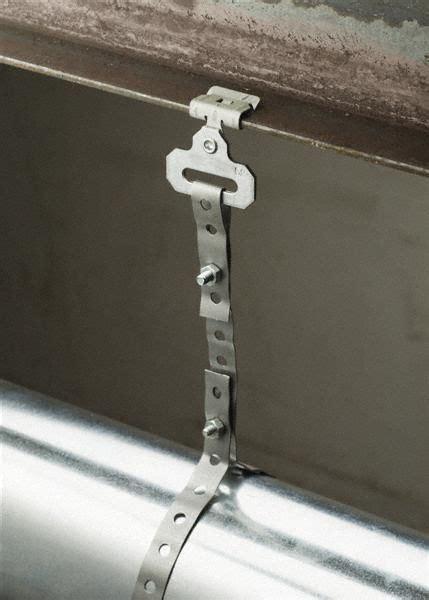 nvent caddy hammer  straight clip strap hanger pre galvanized spring steel steel rvg