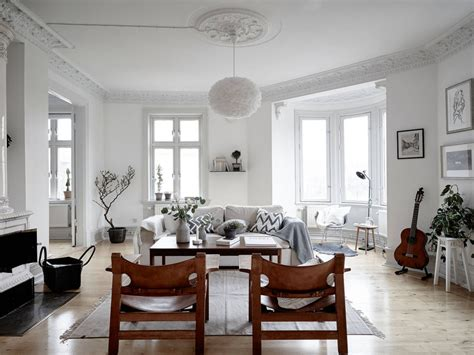 charming apartment  scandinavian style decor