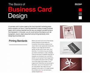 403 forbidden for Business card design basics