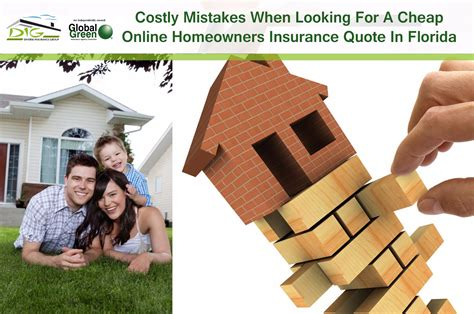 Costly Mistakes When Looking For A Cheap Online Homeowners