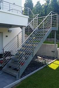 balkon mit aufgangstreppe nappenfeld edelstahl With französischer balkon mit treppe für garten