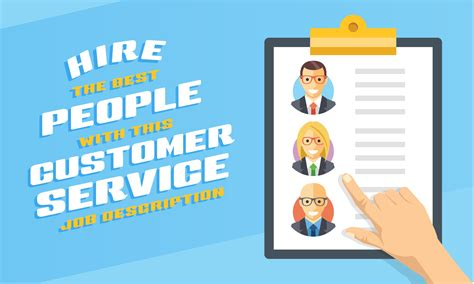 Hire The Best People With This Customer Service Job