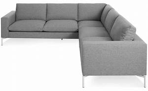 New standard small sectional sofa hivemoderncom for Small sectional sofa reviews